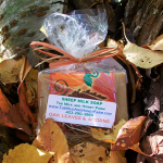 Oak Leaves & Acorns Sheep Milk Soap